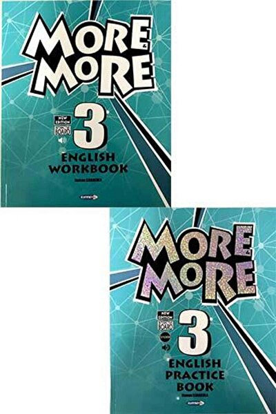 Kurmay ELT More and More English 3 Practice Book Workbook + 3 Hikaye Kitabı