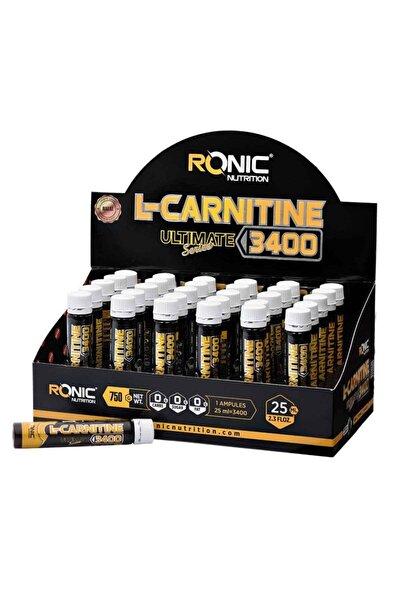 Nutrition L-Carnitine Ultimate Series 3400 Mg 30 Ampul Yağ Yakıcı +3 Adet Hediyeli