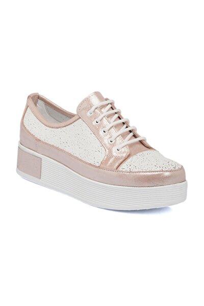 Pembe-Simli Deri Kadın Ayakkabı 64405O4W