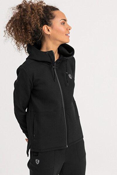 FERRARI Kapüşonlu Kadın Ceket