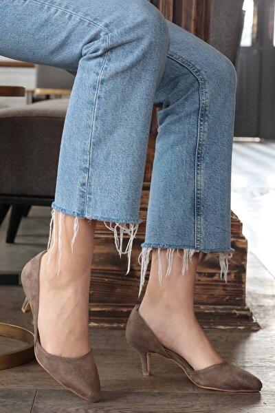 Vizon Kadın Topuklu Ayakkabı 009035MI