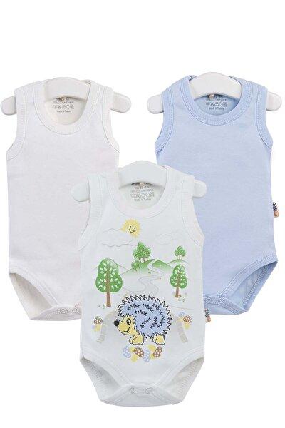 Bebek Baskılı 3lü Zıbın Takım 3-18 Ay PTK20S-302