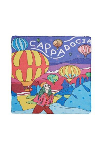 Kapadokya Desenli Fular & Bandana
