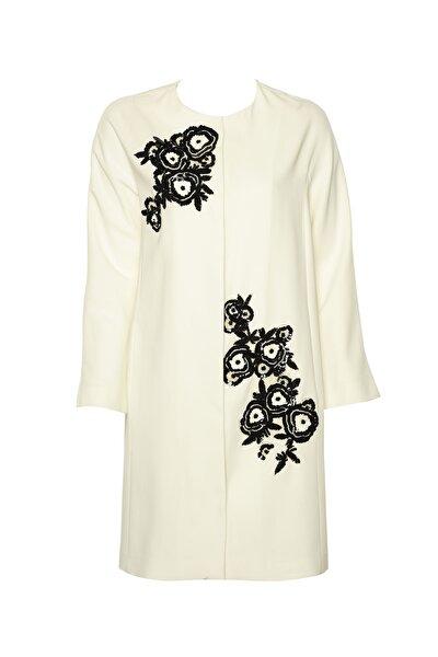 Kadın Kırık Beyaz Pardesü IS1190011055