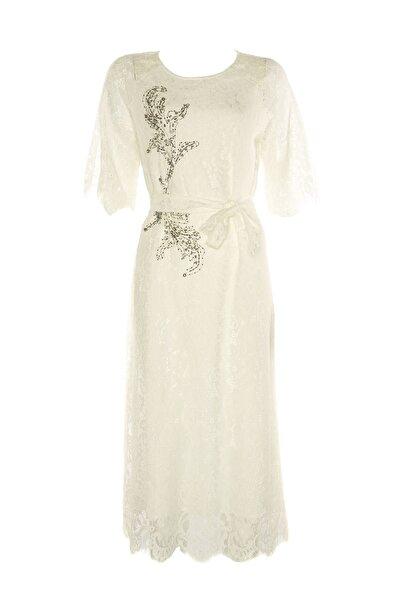 Kadın Beyaz Elbise TS1190002284