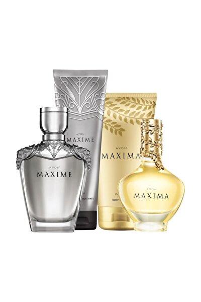 Maxima ve Maxime Kadın ve Erkek Parfümlü Kişisel Bakım Seti
