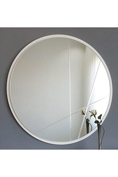 Neostill Dekoratif Ayna Modern Desen 60Cm Yuvarlak