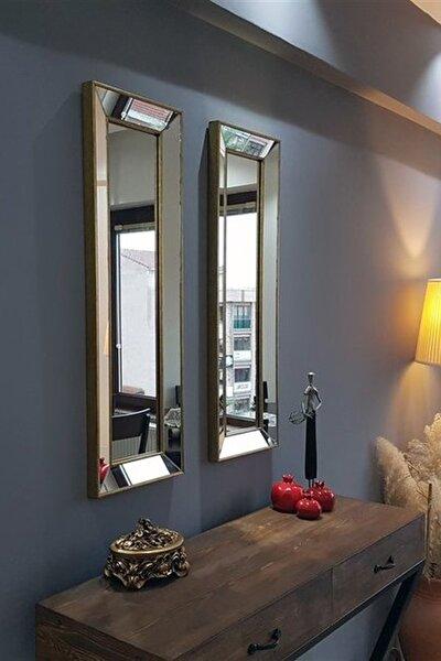Neostill 2Li Dekoratif Duvar Salon Ofis Çerçeveli Ayna A403A