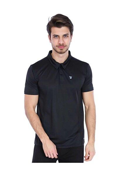 Erkek Sportech Siyah Polo Yaka Tişört