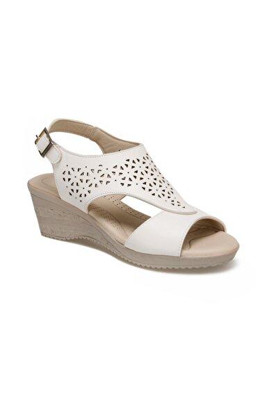 91.150800.Z Beyaz Kadın Sandalet 100374717