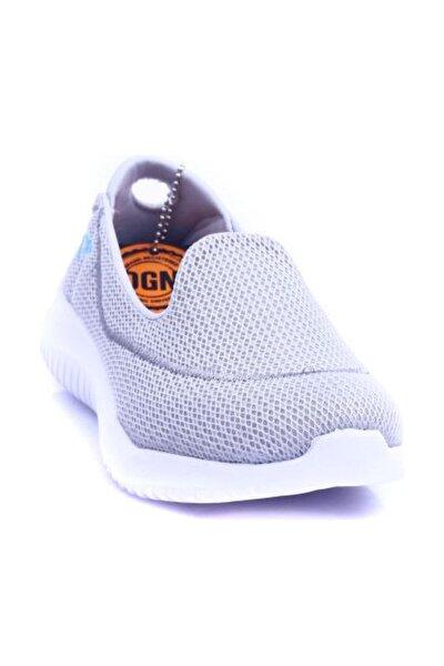 Gri Beyaz Kadın Ayakkabı 205-1173