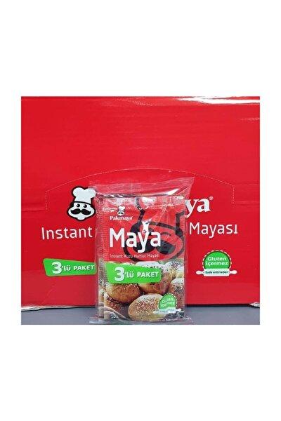 Kuru Maya Instant 10gr 3lü *24 Paket