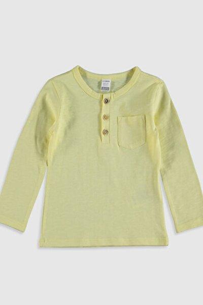 Erkek Bebek Sarı Ftr Tişört