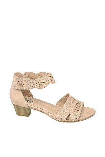 Deichmann Pembe Kadın Topuklu Sandalet