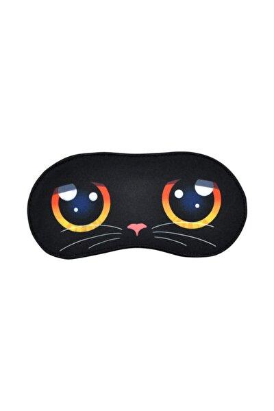 Feline Eyes / Tasarım Baskılı Vegan / Dream Mask Uyku Maskesi