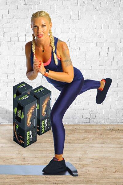 Slideboard Fitness & Cardio Spor Aleti + Taşıma Çantası + 1 Çift Slide Çorap