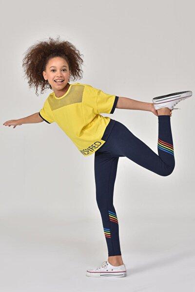 Lacivert Kız Çocuk Tayt GS-8156