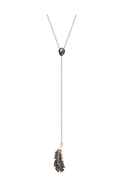 Kolye Naughty:Necklace Y Jet Hem/Ros 5495299