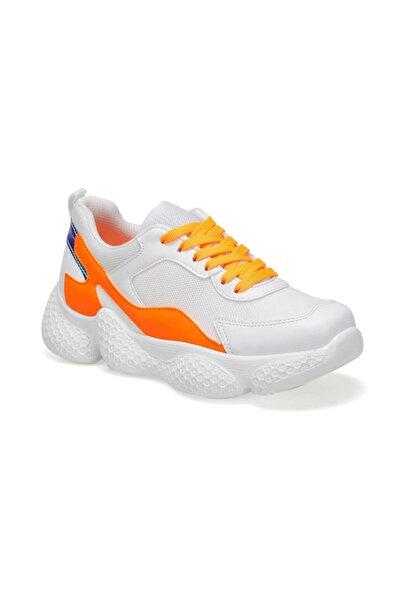 19SF-1616 Çok Renkli Kadın Kalın Taban Sneaker Spor Ayakkabı 100468674