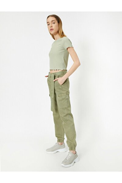 Yeşil Kargo Pantolon