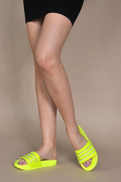 Kadın Neon-sarı Terlik Vzn20-114y