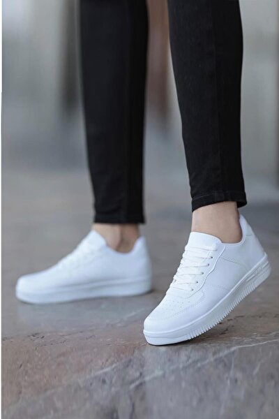 Beyaz Unısex Sneaker Ayakkabı