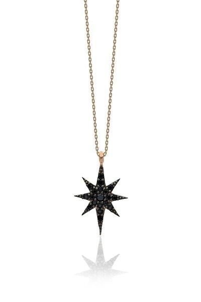 Kutup Yıldızı Gümüş Kadın Kolye BHG1812507