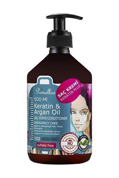 Keratin&Argan Saç Kremi Sulfate Free 500Ml