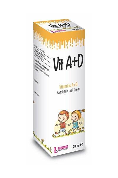 Ledavit Vit A+d Vitamins A+d Pediatric Oral Drops 20ml