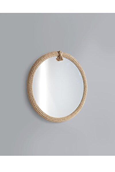Yuvarlak Jut Halat Ayna