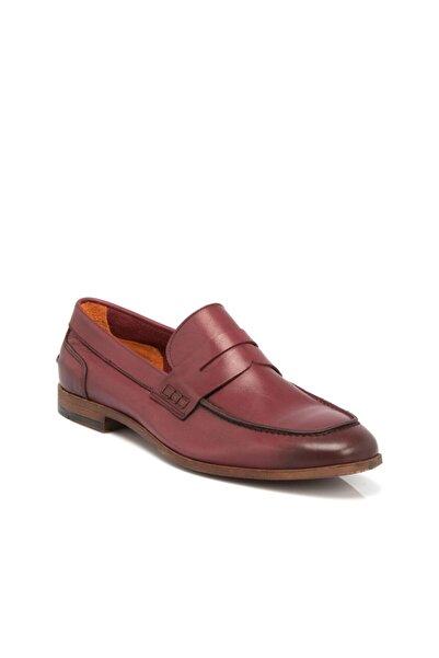 Bordo Deri Erkek Ayakkabı 54211ı2a