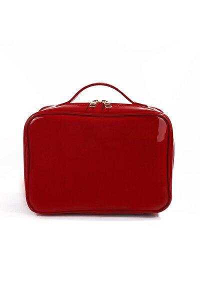 Kırmızı Renk Makyaj Çantası 86939