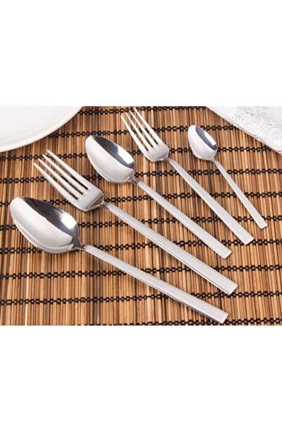 Çelik 8007 Silver 30 Parça Çatal-kaşık Takımı