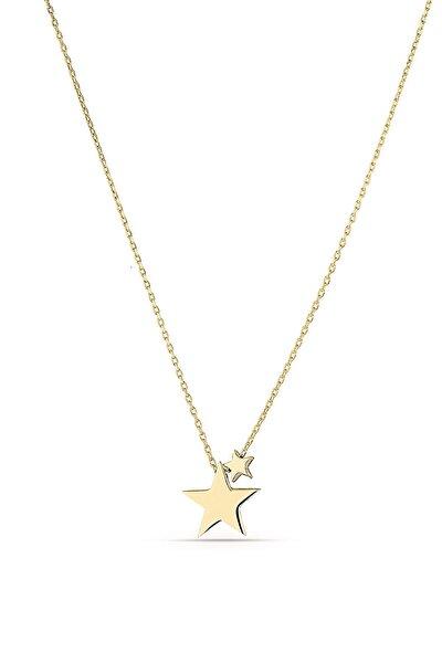 Minimal Yıldız Gümüş Kolye