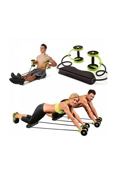 Fit Flex Fitness Tekerlekli Fonksiyonel Egzersiz Spor Aleti,lastikli Karın Kası Geliştirme