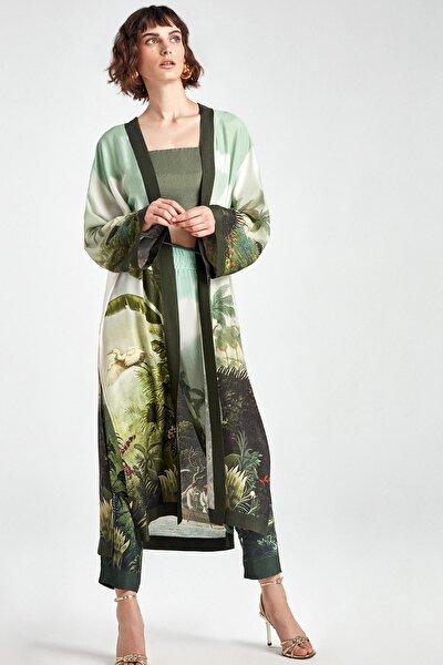 Kadın Desenli Desenli Kimono N20y-11212-0007