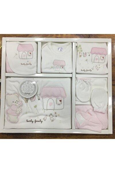 Kız Bebek 10 Lu Hastane Çıkışı Zıbın Seti Das50