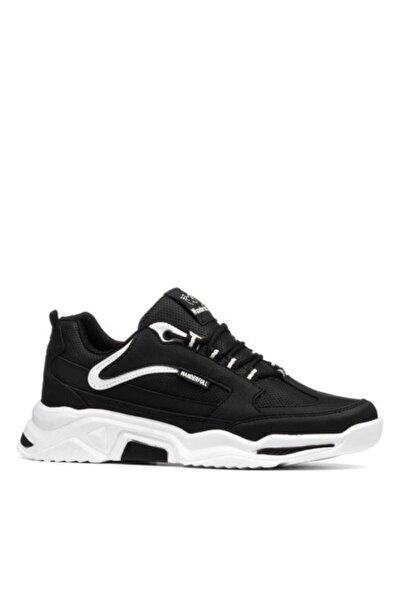 Erkek Siyah Beyaz Günlük Spor Ayakkabı