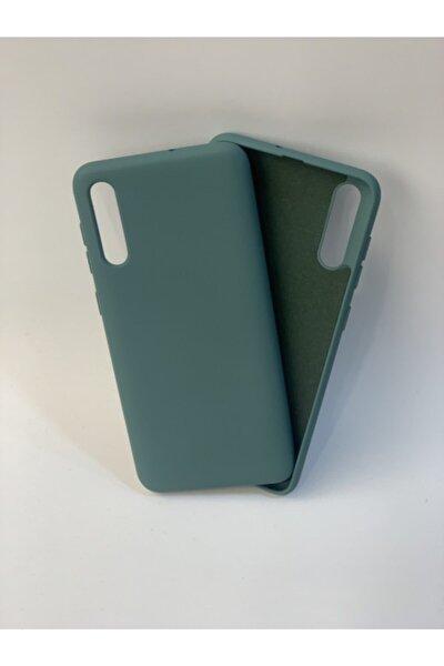 Samsung A50 / A30s / A50s Koyu Yeşil Lansman Silikon Kılıf