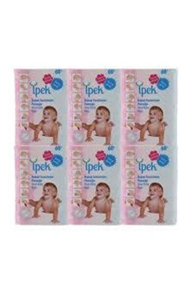 Bebek Temizleme Pamuğu 60'lı x 6 Paket