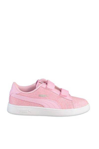 SMASH V2 GLITZ GLAM Pembe Kız Çocuk Koşu Ayakkabısı 100662836