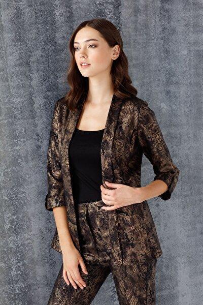 Kadın Bakır Desenli Ceket