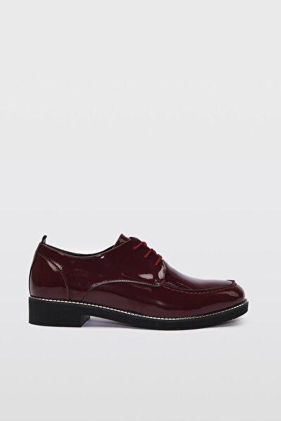 Bordo  Oxford Ayakkabı 01AYY192000A780