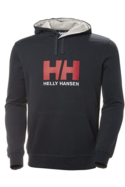 Erkek Lacivert Baskılı Sweatshirt