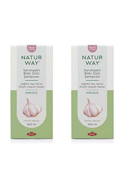 - Naturway Sarımsaklı Bitki Özlü Şampuan 500 Ml X2 Adet