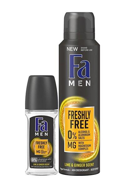 Freshly Free Misket Limonu & Zencefil Deosprey 150 Ml + Roll-on 50 Ml