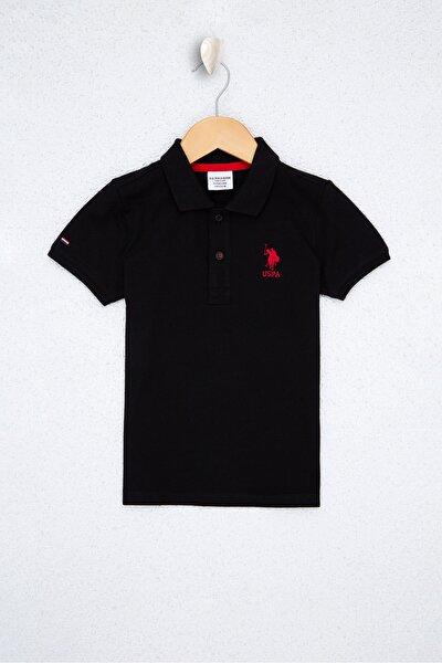 Sıyah Erkek Çocuk T-Shirt