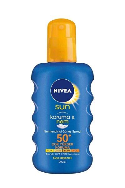 Sun Koruma Ve Nem Spf 50 Faktör 200 Ml Sprey Güneş Kremi