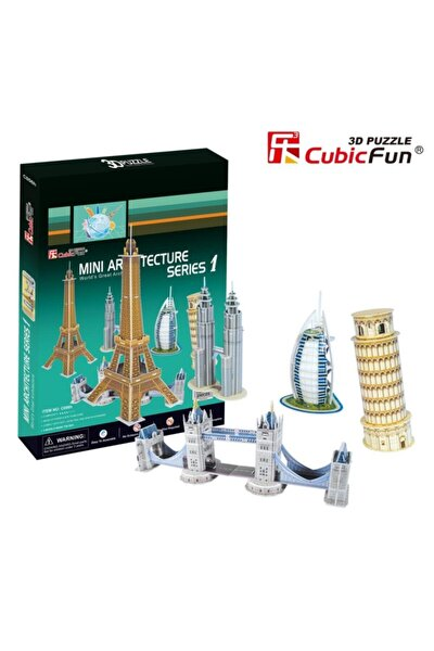 Mini Mimari Yapılar Seri 1