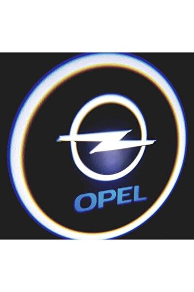 Araçlar Için Pilli Yapıştırmalı Kapı Altı Led Logo